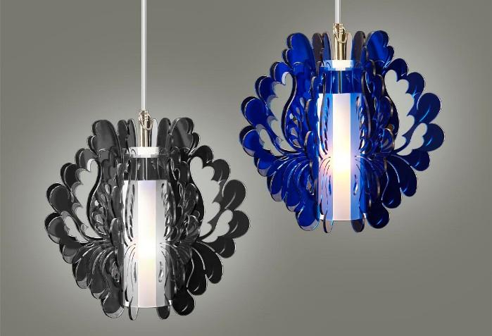 dansk plisse lampeskærm